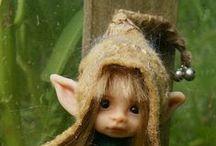Čarodějnice, skřítci, elfové, černokněžníci
