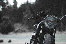 Motorcycle love.