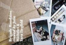 ★ Press Brigade Mondaine for FUNNY TASTES Magazine ★ / Brigade Mondaine for FUNNY TASTES Magazine www.brigademondai... PHOTOGRAPHER : Julie Michelet STYLIST : Tara Ziegfeld ASSISTANT STYLIST : Angélique Lancelle MAKE-UP : Virginie Hullaert HAIR : Sadek L MODEL : ELENA@WM Special thanks to the dogs owners !