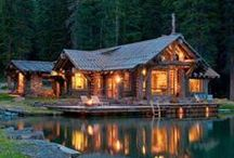 -:¦:- Cabin Dream -:¦:- / A quiet spot in the forest