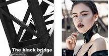 "ELEGANT Magazine Press Brigade Mondaine / Brigade Mondaine Press in ELEGANT Mag ""The Black Bridge"" Photographer: Gregory Boussac  Wardrobe stylist: @_thomaslebon_ Hair and makeup @laurie_le_felic Photo assistant: @alexandre_xii Wardrobe assistant: @claralebon Model: @monika_bick @upmodelsparis"