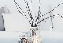 Winter Home Decor / Get your house ready for the long, cozy winter with these lovely winter home decor ideas and inspiration.