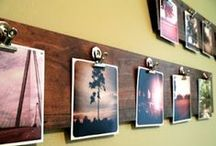 [instagram décor] / Creative ways to decorate your home with Instagram prints! (Turn your Instagrams into adorable 4x4 prints with the Kicksend app for iPhone & Android.) / by Kicksend