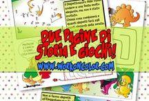IllustrAttive - IllustrAction / Disegni interattivi, giochi, origami, attività stampabili per bambini.  Interactive design, games, printable games, maze and printable activities for kids.