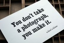 [quotes: we ❤ photography] / by Kicksend