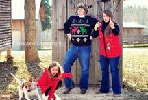[family holiday photo ideas] / by Kicksend