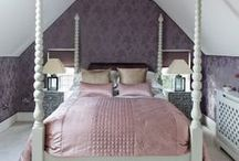 Guest suite with an oriental feel / A loft has been converted into a sumptuous bedroom suite in a Hertfordshire home.