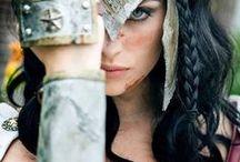 C: Wonder Woman / Princess Diana of Themyscira or Diana Prince, warrior Princess of the Amazons.