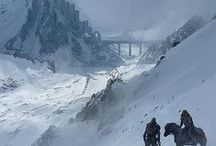 Realm: Jotunheim / The Norse realm of the Frost giants. A realm of ice and forgotten things of darker times.