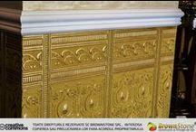 Lucrari cu tapet - Works with Wallpaper / Pentru designul interior, tapetul a fost dintodeauna un element esential, la moda,care vine in completarea celorlalte materiale alese de dumneavoastra.