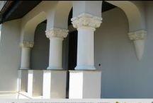 Decoratiuni exterioare - Exterior Decoration / Arhitectura stil mediteranean,neoclasic,neoromanesc,brancovenesc...