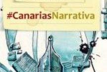 Canarias Narrativa #CanariasNarrativa / Aquí nos encuentran convergiendo escritoras/es e ilustradores/as. Conversamos cómplices y ofrecemos relatos breves para que los viajeros virtuales encuentren un refugio donde leer