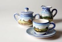 For breakfast / Cups. Sugar bowls. Teapots.  All for breakfast...and not only