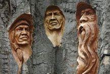 Wooden Art / Wood as a medium for art.