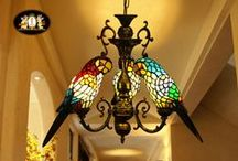 Lighting from Past to Present / Cande holders, oil lamps, light fixtures