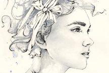 Art and Drawings / Art, drawings, doodles, paintings, pencil drawings, watercolor