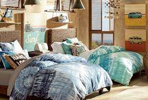 Coastal Home Decor / Room designs, decorations, and ideas