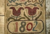 Textiles Through the Ages / Textiles in wearing apparel, household linens and bedding, upholstery, draperies and curtains, wall coverings, rugs and carpets, and book bindings, in addition to being used widely in industry.