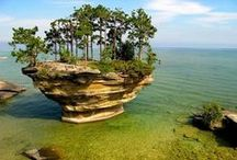 Nature's Art - the beauty we see nature / Rocks, rock formations, ice & snow, & more