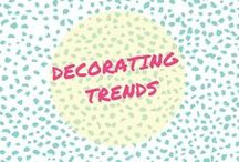 Decorating Trends / Attention all in the Decorating Nation... Spark your imagination through completed room designs, design tips, and styled for sale decor. | Atlanta Blogger | Style and Living Profile