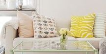 Spring Home Decor / Spring has sprung. Celebrate new beginnings by sprucing up your home decor.