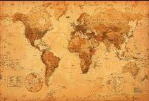 mapas del mundo / mapas.
