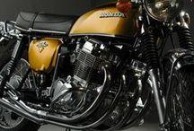 "Honda Motorcycles - 70's ""Old Ladies"" / Scrambler - Standard - Turing - Sport - Moto GP CB200, CB 360, 500 Four, 750 Four, CB 900F,  GL 1000 Goldwing ....   / by Flavio Uai"
