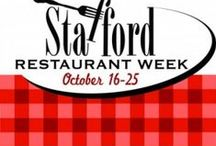 Stafford Restaurant Week / Stafford Restaurant Week! October 16-25, 2015 Enjoy dining out at participating restaurants October 16 through 25 and take advantage of their special Restaurant Week offer, plus enter to win a prize drawing.  Pick up a Restaurant Week Passport at any participating restaurant and have it stamped when dining out; diners who visit 4+ restaurants can register to win great prizes!  #DineStaffordVa