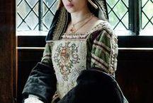 History: The Tudors / The Tudor dynasty of England (1485-1603). Ruled by Henry VII, Henry VIII, Edward VI, (Lady Jane Grey), Mary I, Elizabeth I.