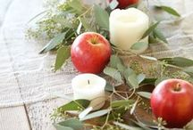 Winter Tablescapes / Table decorations and place settings with a winter theme.