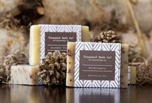 Vineyard Bath Co. Branding / We hope you like our new packaging design, just in time for Christmas! www.vineyardbathcompany.com