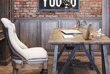 Werken / Je nieuwe kantoor aan huis geïntegreerd in het interieurontwerp of toch liever een knus werkplekje aan de eetkamertafel? Alle inspiratie voor jouw ultieme werkplek!