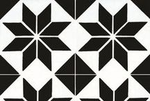 Cuban Cement Tiles - Geometrics Collection / The cement tile is the wall and floor covering solution that offers the widest range of options since the possibilities of combining colors and designs, or even creating your own designs, are truly endless. See more of our Geometrics Collection here: www.marmol.com/cuban-tiles/?filtered=proItem-geometrics