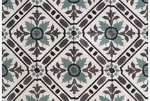 Cuban Cement Tiles - Classics Collection / The cement tile is the wall and floor covering solution that offers the widest range of options since the possibilities of combining colors and designs, or even creating your own designs, are truly endless. See more of our Classics Collection here: www.marmol.com/cuban-tiles/?filtered=proItem-classics
