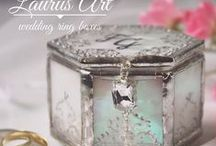 Wedding Ring Holder / Unique wedding ring boxes by LaurusArt