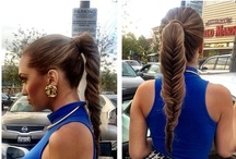 Hairstyles I love and my obsession of braids! / by Megan Mallery
