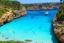 Wonderful blue sea