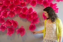 Paper flowers / by Michelle Jimenez