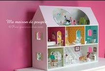 DIY | Maisons de poupées / Doll houses / Maisons de poupées / Dollhouse home made DIY #dollhouse #poppenhuis #maisondepoupée