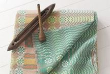 Weaving / Inspiration of what you can make when you weave.