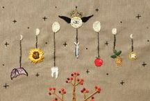 Embroidery / Inspiring embroidery pieces