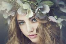 Floral Females / Female Editorial & Fashion Photography using flower accessories.