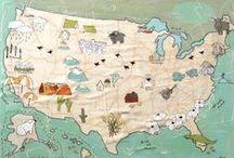 • MAPS •