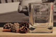Gifts + Merch / Watershed Distillery merchandise and gifts available both online (http://shop.watersheddistillery.com/) or in our bottle shop, open weekdays 9am - 6pm.
