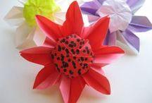 origami fleur / by JACKIE LE BRAS