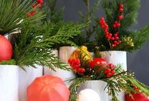 Holiday Centerpieces / Holiday centerpieces that we love and designed.