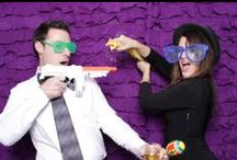 Photo Booth Prop Inspiration / Real photos taken from our events! Why not use these ideas at your event or be even more creative with your own poses!!
