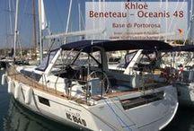 Khloè - Oceanis 48 / Barca a vela - Monohull del 2014. Cantiere Beneteau. Lunghezza: 14.60 - Posti letto: 10 - Cabine: 5 - Wc: 3