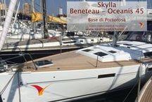 Skylla - Oceanis 45 / Barca a vela - Monohull del 2014. Cantiere Beneteau. Lunghezza: 13.94 - Posti letto: 10Cabine: 4 - WC: 2