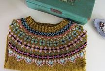 Knitted and crochet
